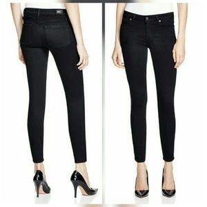Paige Verdugo Crop Black Skinny Jeans Size 29